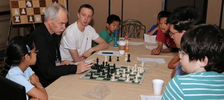 Chess Camp with GM Walter Browne
