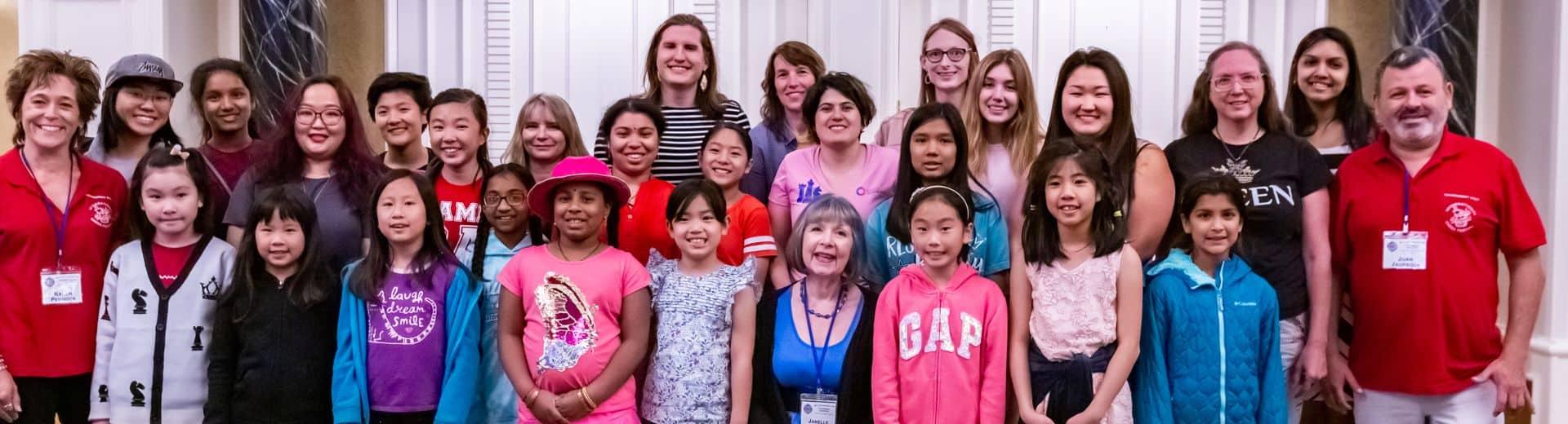 US Women's Open 2019 Group Photo