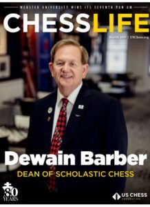 Dewain Barber Chess Life Cover
